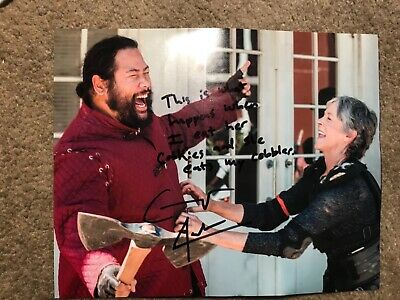 COOPER ANDREWS (The Walking Dead Jerry) Official Autograph