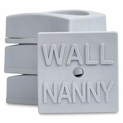 Wall Nanny Mini (4 Pack - Made in USA) Smallest Low-Profile Wall Protector