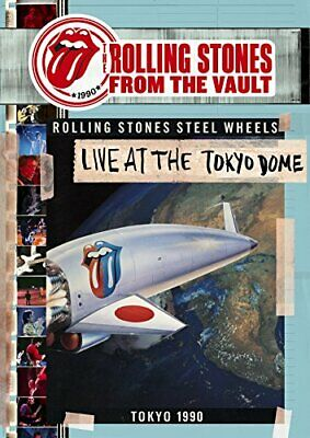 New THE ROLLING STONES Live At The Tokyo Dome 1990 CD + BLU RAY with Bonus DVD