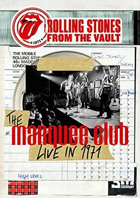 New ROLLING STONES THE VAULT 71 Marquee Club Brussels Affair CD + BLU RAY