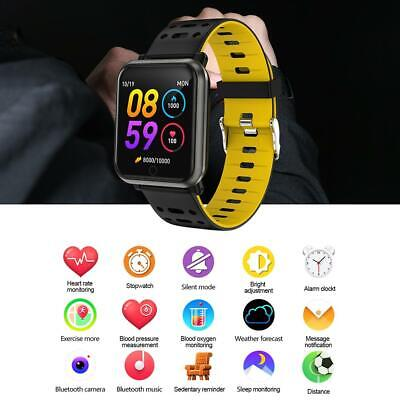 Waterproof Bluetooth Smart Watch Sport Wristband Color Screen Fitness Tracker