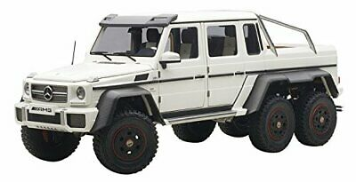 New AUTOart 1/18 Mercedes Benz G63 AMG 6 X 6 Matt White