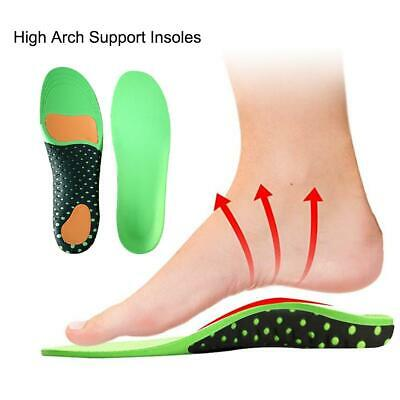 Orthotic Shoe Insoles High Arch Support Inserts Pads Absorbent Sports Insoles