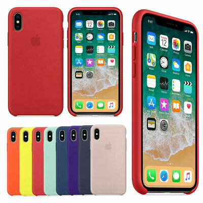 Genuine Soft Silicone Case Cover for Apple iPhone 8 7 6s 6 Plus X XS MAX XR OEM