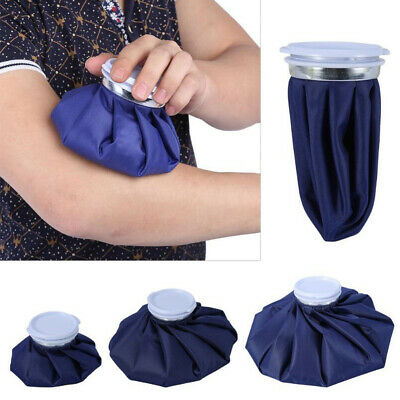 Ice Bag Heat Cold Cooler Pack Reusable Injury Knee Head First Aid Pain Relief AU
