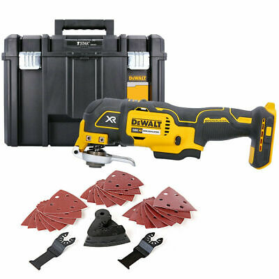 Dewalt DCS355N 18V Brushless Oscillating Multi-Tool With Accessories & Case
