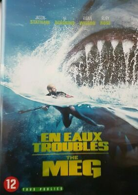 A Voir ! Dvd En Eaux Troubles - The Meg  - Jason Statham