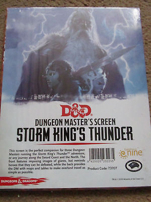 D&D 5E STORM King's Thunder D&D Dungeons And Dragons
