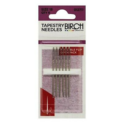 Tapestry Needles Size 18 - 6 pack