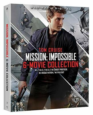 Mission: Impossible 6-Movie Collection Blu-Ray Digital Tom Cruise