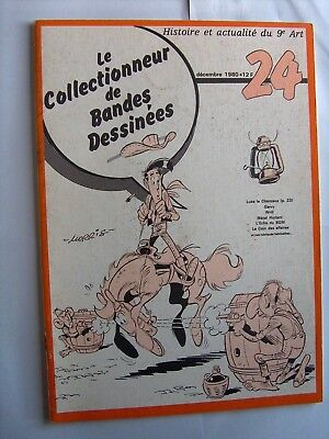 Revue Le Collectionneur De Bandes Dessinees N°24 Decembre 1980 Lucky Luke Tbe