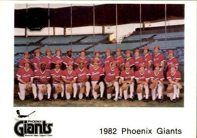 1982 Phoenix Giants Valley National Bank ... Pick Your Player