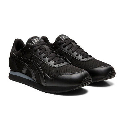 Chaussures Baskets Asics homme Tiger Runner taille Noir Noire Synthétique