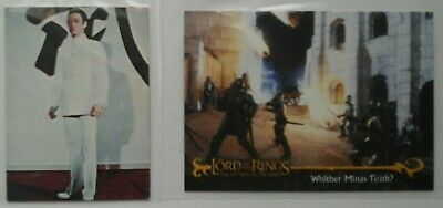 2 Not English Trade Cards  , 1 Unknown,  1 The Lord Of The Rings .
