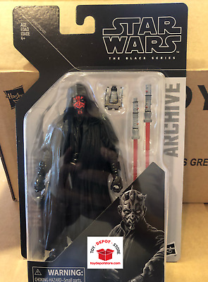 Star Wars Black Series 6 Inch Wave 2 Archive DARTH MAUL Figure - In Hand!!