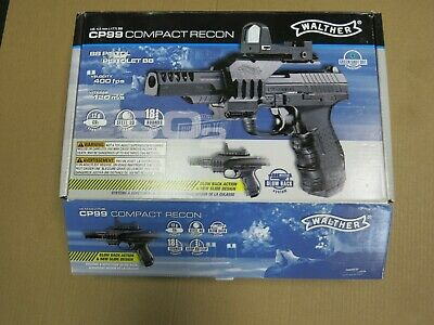 WALTHER CP99 COMPACT Nickel Bi-Color CO2 blowback BB gun