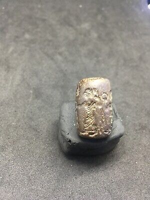 EXEPTIONAL RARE  ANCIENT ROMAN SEALS PENDANT UNSEARCH VERY INTEREST Afghani Pend