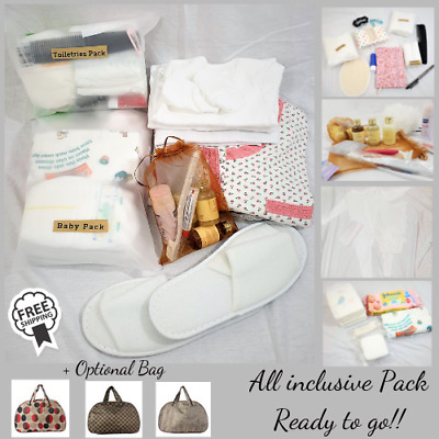 Luxury Pre-Packed  Birth Maternity Baby Hospital with bag without bag