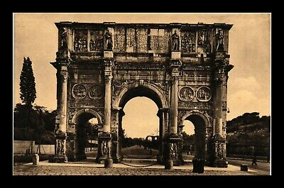 Dr Jim Stamps Costantines Arch Rome Italy View Postcard