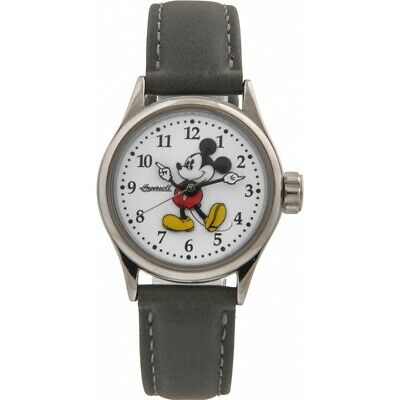 Disney by Ingersoll 25570 Ladies Classic Mickey Mouse Grey Watch RRP £69.99.New.