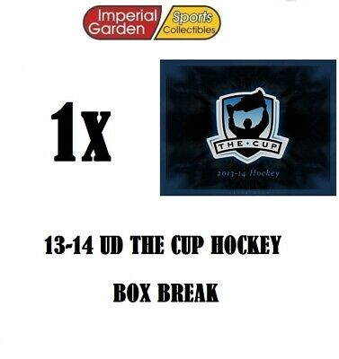 SINGLE * 13-14 * UD THE CUP HOCKEY Box Break #2000- Edmonton Oilers