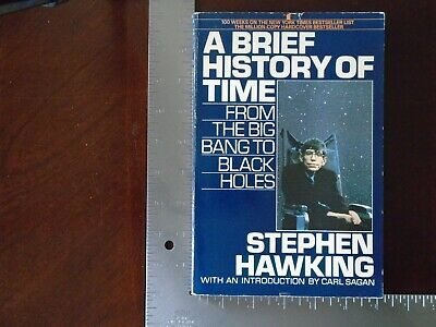 A Brief History of Time: From the Big Bang to Black Holes  by Stephen W. Hawking