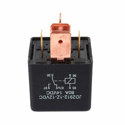 New High Quality 12V 80A 5-Pin SPDT Automotive Car Van Boat Relay Control