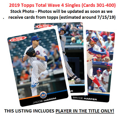 2019 Topps Total Wave 4 (Limited Print Run) #303 RYAN BUCHTER Athletics