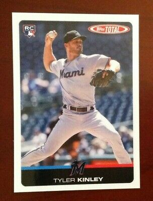 2019 Topps Total Wave 4 (Limited Print Run) #336 TYLER KINLEY Marlins