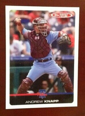 2019 Topps Total Wave 4 (Limited Print Run) #350 ANDREW KNAPP Phillies