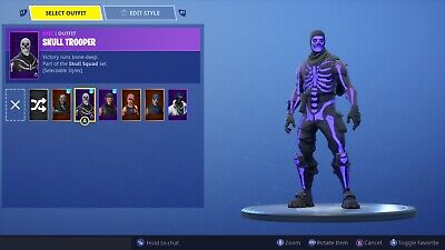 Raffle! Rare OG Skull Trooper Account Full Access With Founders Skins!