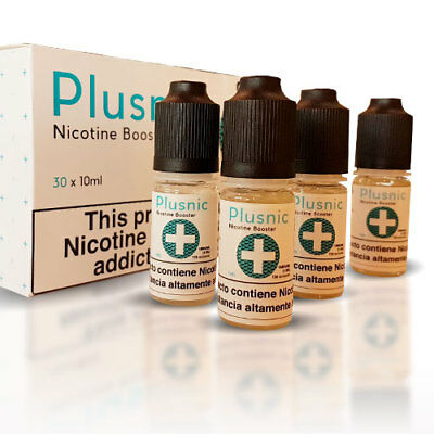 Nicokit Plusnic+ 18mg 10ml (Pack 30 Botellas) 70%VG / 30%PG - Nicotina Eliquids