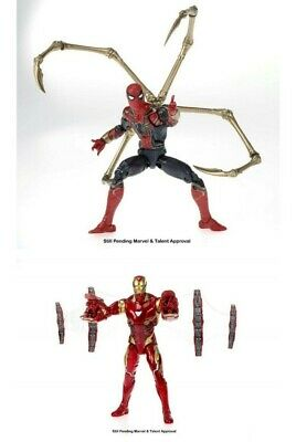Marvel legends 80 Years Iron Spider and Iron Man 2 pack -Pre-order - fall 2019