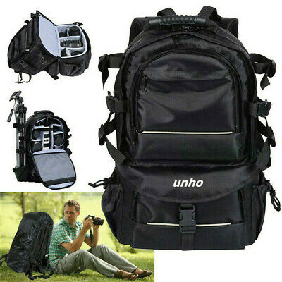 DSLR Large Outdoor Waterproof Camera Backpack Shoulder Bag Case For Canon Nikon