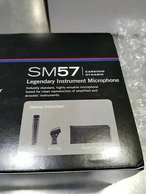 Microphone Shure Sm57 neuf new