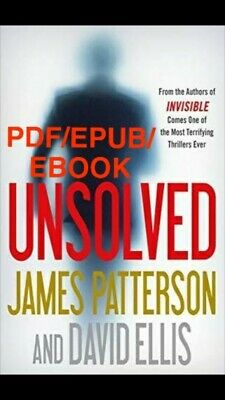 Unsolved by James Patterson 🔥Same day delivery!🔥