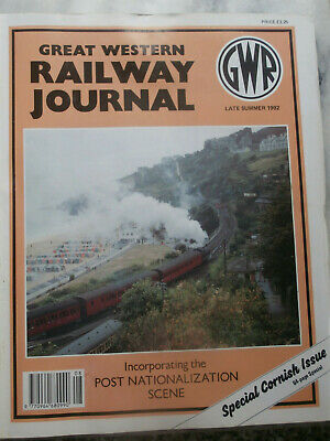 GWR Great Western Railway Journal Late Summer 1992 Special Cornish Issue