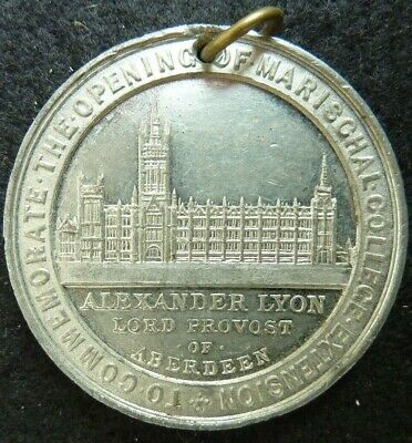 Aberdeen. opening of the Marischal College. King Edward VII  medal