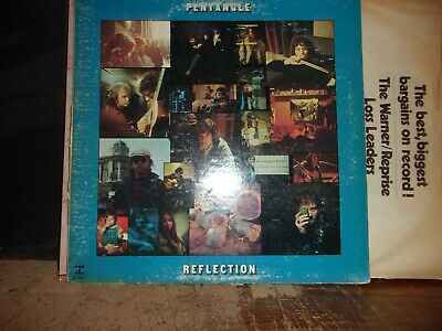 Pentangle Reflection 1971  Vinyl Lp Reprise Records Great Classic Folk Rock