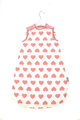 Mama Designs Babasac Multi Tog Baby Sleeping Bag in Off White with Pink for 6 to