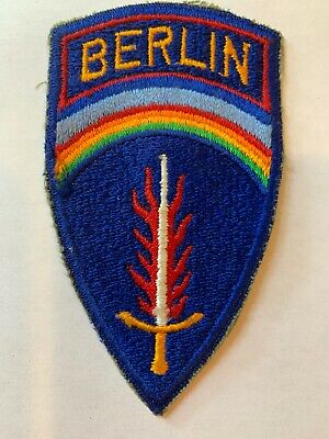 """US Army Berlin Brigade command shoulder patch not common 4"""""""