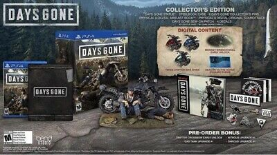 Days Gone Collectors Edition (Sony PlayStation 4, 2019) PS4 NEW/SEALED