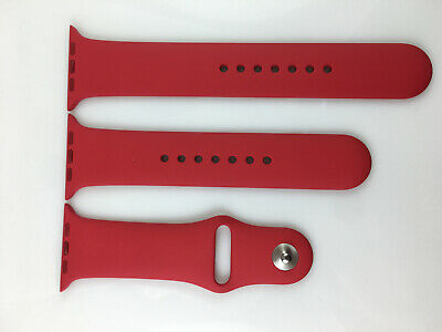 Original Genuine Apple Watch Sport Band 42mm 44mm ( Product ) RED 2nd Generation