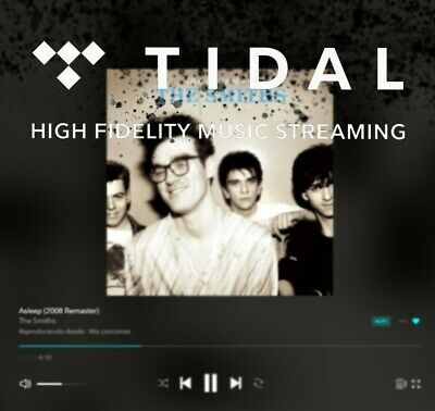 Tidal Hi-Fi Family Plan, 1 Month, 6 Users and Master Quality