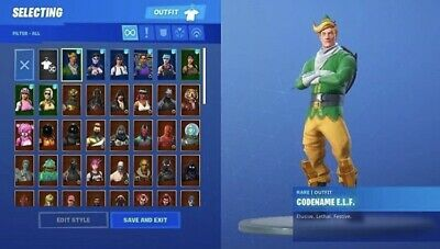 *Raffle* Og Fortnite Account Stacked 265+ Wins Read Description Will Sell Out