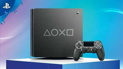 Sony PS4 PlayStation 4 slim Console 1 TB days of play limited edition NUOVA