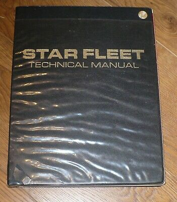 Star Trek / Star Fleet Technical Manual / First Edition 1975 / Franz Joseph