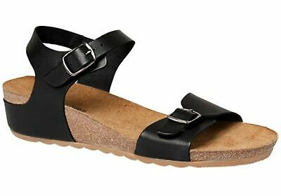 New Hush Puppies Tease Soothe Womens Leather Comfort Sandals