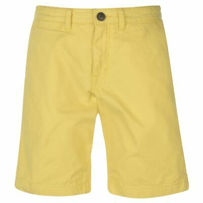O'Neill Friday Night Chino Shorts Mens Yellow Bottoms Short Pants Summerwear