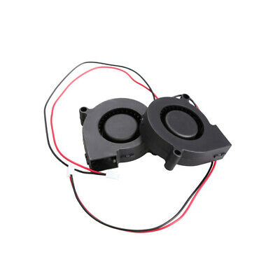 Brushless Computer DC Cooling Blower Fan 2 Wires 5015S 12V 0.14A 50x15mm